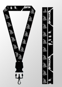 Metallica Black Album Lanyard
