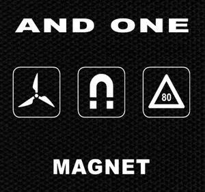 """And One Magnet 5x4"""" Printed Patch"""