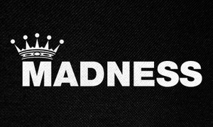 "Madness Logo 5x3"" Printed Patch"