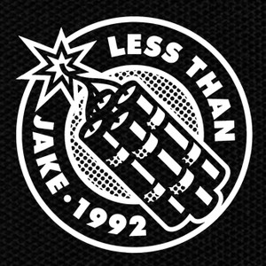 "Less Than Jake 1992 4x4"" Printed Patch"