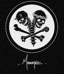 "Mudvayne Skulls N Bones 4x4"" Printed Patch"