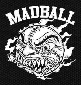 "Madball Logo 4.5x4.5"" Printed Patch"