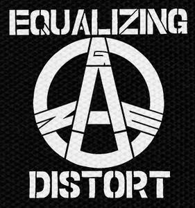 "Gauze - Equalizing Distort Logo 4x4"" Printed Patch"