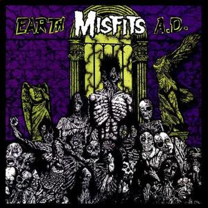 "Misfits - Earth A.D. 4x4"" Color Patch"