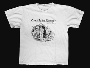 Crimes Against Humanity T-Shirt Size Small
