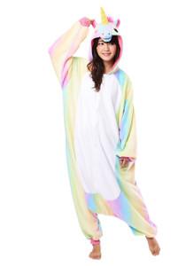 Adult Size Rainbow Unicorn Kigurumi Onesie