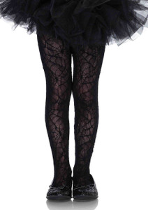 Children's Spider Web Tights