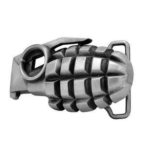 Grenade Metal Belt Buckle