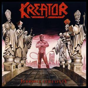 "Kreator - Terrible Certainty 4x4"" Color Patch"
