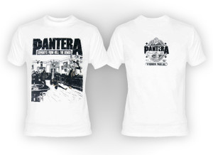 Pantera - Cowboys From Hell Demos White T-Shirt