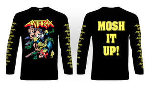 Anthrax Mosh It Up! Long Sleeve T-Shirt