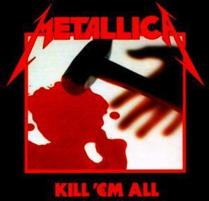 "Metallica - Kill 'Em All 4x4"" Color Patch"