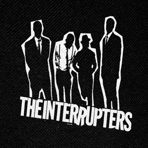 "The Interrupters Silhouette Logo 4x4"" Printed Patch"
