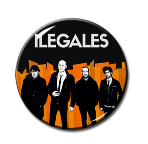 "Ilegales - Band 1"" Pin"