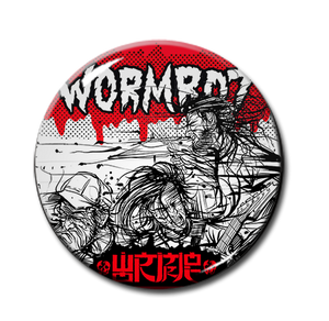 "Wormrot - Band 1"" Pin"