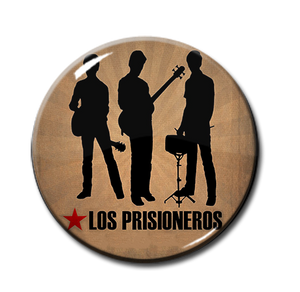 "Los Prisioneros Band 1"" Pin"