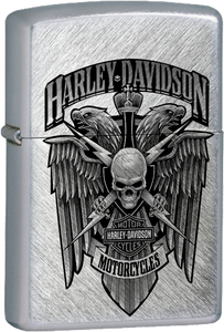 Harley Davidson Chrome Lighter