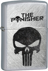 The Punisher Skull Chrome Lighter
