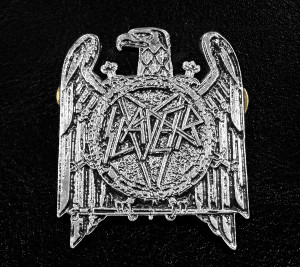 "Slayer Eagle Logo 2"" Metal Badge"