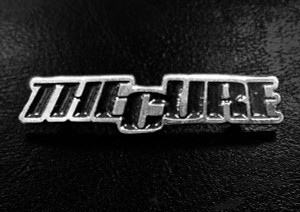 "The Cure Logo 2"" Metal Badge"