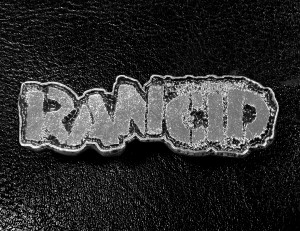"Rancid Logo 2"" Metal Badge"
