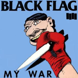 "Black Flag - My War 4x4"" Color Patch"