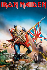 "Iron Maiden - Trooper 24x36"" Poster"