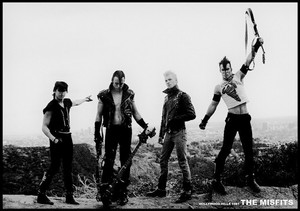 "Misfits - Hollywood Hills 1981 36x24"" Poster"