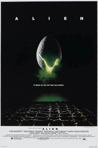 """Alien Movie Cover 24x36"""" Poster"""