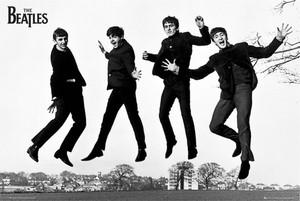 "Beatles The Jump Photograph 36x24"" Poster"
