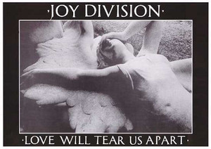 "Joy Division - Love Will Tear Us Apart 36x24"" Poster"