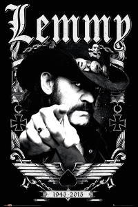 """Motorhead - Lemmy 24x36"""" Poster"""