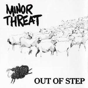 "Minor Threat - Out Of Step 4x4"" Color Patch"