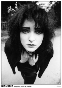 "Siouxsie - London 1981 36x24"" Poster"
