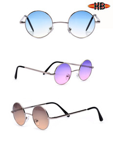 John Lennon Metal Round Pastel Color Sunglasses
