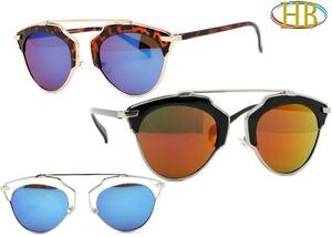 Futuristic Aviator Style Metal Sunglasses - Really XL