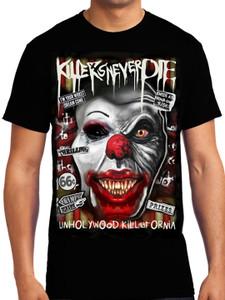 Pennywise clown - Unholywood Killafornia T-Shirt