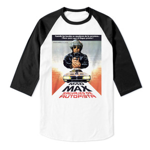 Mad Max Raglan Baseball 3/4 Sleeve T-Shirt