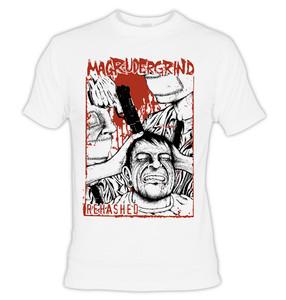 Magrudergrind Rehashed White T-Shirt