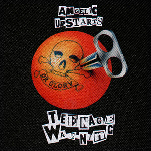 "Angelic Upstarts - Teenage Warning 4x4"" Color Patch"