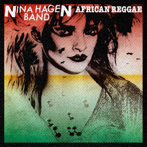 "Nina Hagen Band - African Reggae 4x4"" Color Patch"