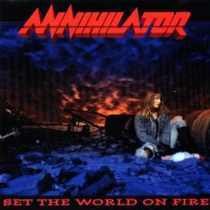 "Annihilator - Set The World On Fire 4x4"" Color Patch"