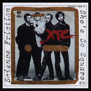 "XTC - Science Friction 4x4"" Color Patch"