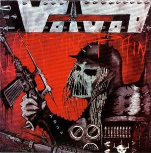 "Voivod - War Skull 4x4"" Color Patch"
