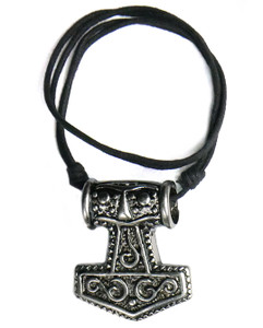 Mjolnir #3 Thick Necklace