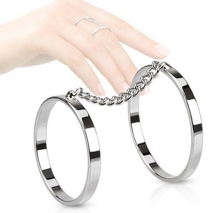Two Rings with Chain