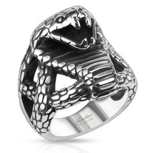 Cobra Head Ring