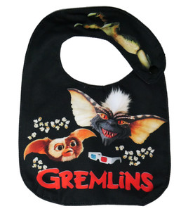 Gremlins Spike and Gizmo Baby Bib