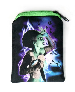 Go Rocker - Bride of Frankenstein Lightning Coin Purse