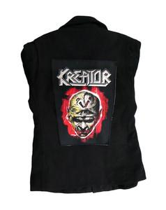 "Go Rocker - Kreator Skull 13.5X10.25"" Color Backpatch"